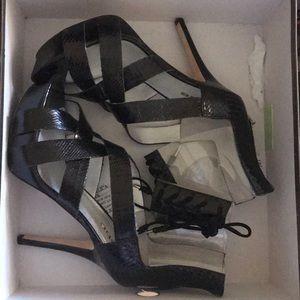 Black bebe heels